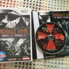 Videojuegos y Consolas: RESIDENT EVIL THE UMBRELLA CHRONICLES CAPCOM PAL NINTENDO WII KREATEN U. Lote 138908154