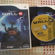 Videojuegos y Consolas: DISNEY PIXAR WALL-E WALL E WALLE BATALLON DE LIMPIEZA NINTENDO WII WIIU WII-U KREATEN. Lote 140023962