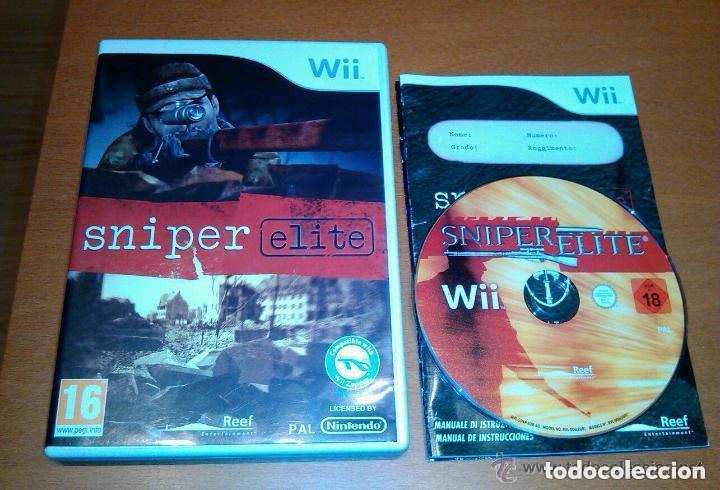 JUEGO NINTENDO WII SNIPER ELITE (Juguetes - Videojuegos y Consolas - Nintendo - Wii)