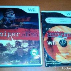 Videojuegos y Consolas: JUEGO NINTENDO WII SNIPER ELITE. Lote 140058518