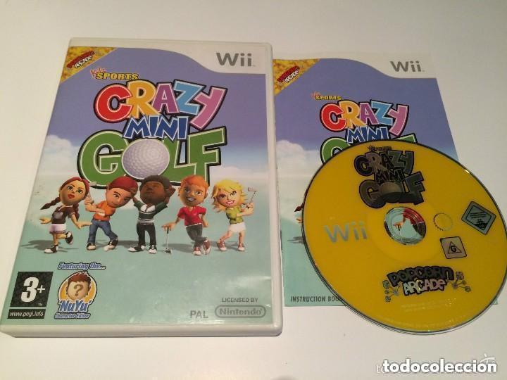 JUEGO NINTENDO WII KITZ SPORTS CRAZY MINI GOLF (Juguetes - Videojuegos y Consolas - Nintendo - Wii)