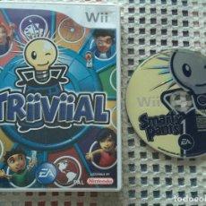 Videojuegos y Consolas: TRIIVIIAL TRIVIAL EA SMARTY PANTS WII NINTENDO WII KREATEN. Lote 141503286