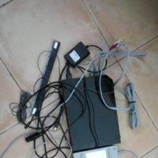 Videojuegos y Consolas: CONSOLA NINTENDO WII PARA ARREGLAR O PARA PIEZAS CON CABLES CABLEADO. Lote 141696066