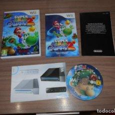 Videojuegos y Consolas: SUPER MARIO GALAXY 2 COMPLETO NINTENDO WII PAL ESPAÑA COMO NUEVO. Lote 143153630