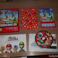 Videojuegos y Consolas: NEW SUPER MARIO BROS COMPLETO NINTENDO WII PAL ESPAÑA COMO NUEVO. Lote 143153698