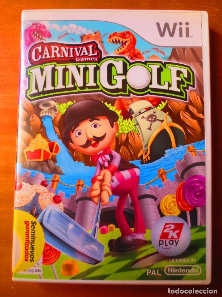 Carnival Games Mini Golf Nintendo Wii Comprar Videojuegos Y