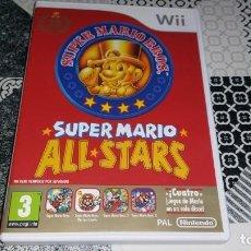 Videojuegos y Consolas: SUPER MARIO BROS ALL STARS MARIO BROS 1 2 3 PAL ESPAÑA WII . Lote 143607710