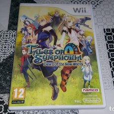 Videojuegos y Consolas: TALES OF SYMPHONIA DAWN OF THE NEW WORLD WII PAL ESPAÑA COMPLETO NAMCO. Lote 143608202