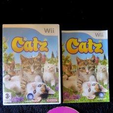 Videojuegos y Consolas: JUEGO NINTENDO WII CATZ. Lote 144295090