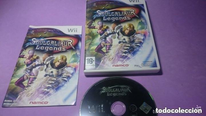 JUEGO NINTENDO WII SOUL CALIBUR LEGENDS (Juguetes - Videojuegos y Consolas - Nintendo - Wii)