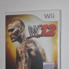 Videojuegos y Consolas: JUEGO NINTENDO WII W12 W'12 W 12 2011 THQ COMBATE VERSIÓN ALEMÁN PROGRAMA TELEVISIVO. Lote 144578042