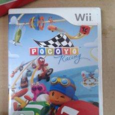 Videojuegos y Consolas: POCOYO RACING. WII.. Lote 144602962