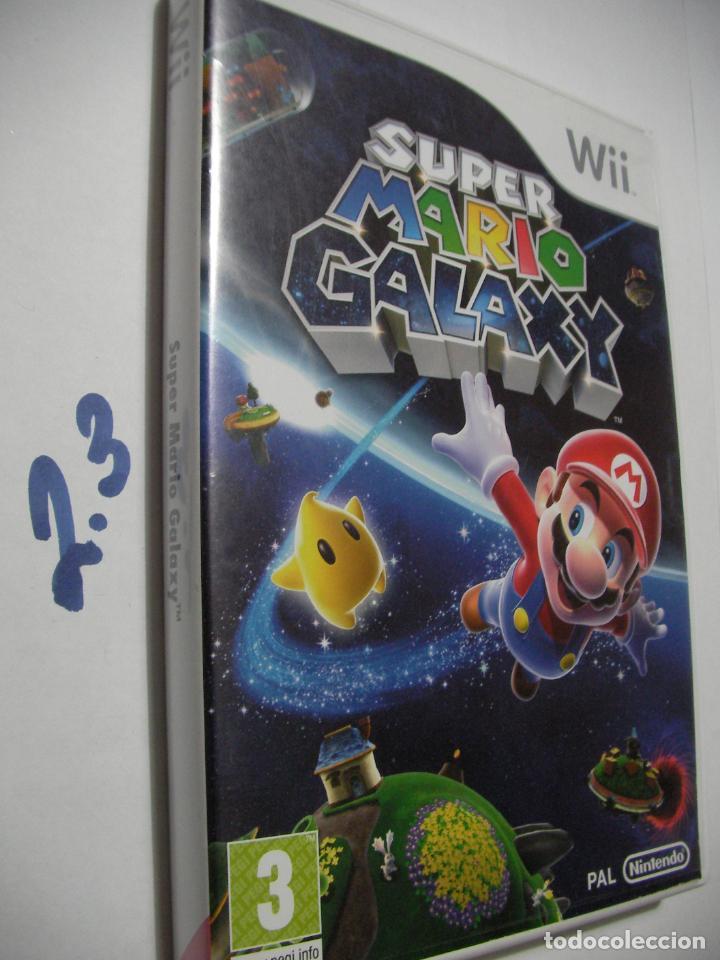 WII - SUPER MARIO GALAXY (Juguetes - Videojuegos y Consolas - Nintendo - Wii)