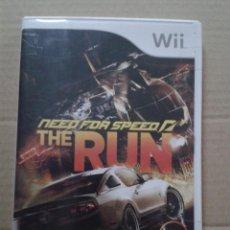 Videojuegos y Consolas: NEED FOR SPEED, THE RUN. NINTENDO WII. Lote 145331122