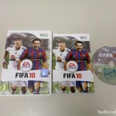 Videojuegos y Consolas: J- JUEGO FIFA 10 PAL NINTENDO WII AÑO 2009 EUR . Lote 146014290