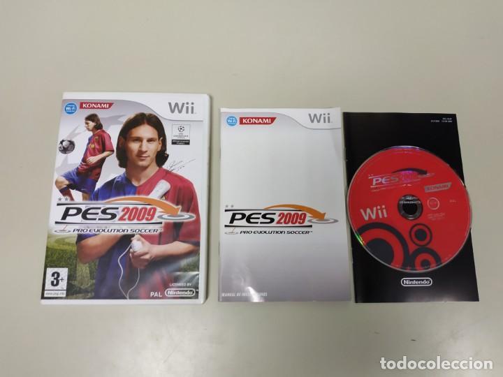 J- JUEGO PRO EVOLUTION SOCCER 2009 PAL NINTENDO WII AÑO 2009 EUR (Juguetes - Videojuegos y Consolas - Nintendo - Wii)