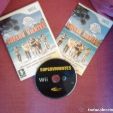 Videojuegos y Consolas: JUEGO NINTENDO WII SUPER VIVIENTES. Lote 146046838