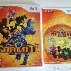 Videojuegos y Consolas: JUEGO NINTENDO WII GORMITI. Lote 146046850