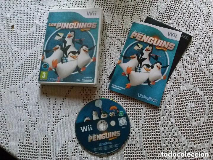 JUEGO NINTENDO WII LOS PINGUINOS DE MADAGASCAR (Juguetes - Videojuegos y Consolas - Nintendo - Wii)