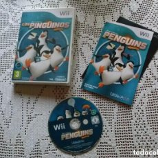 Videojuegos y Consolas: JUEGO NINTENDO WII LOS PINGUINOS DE MADAGASCAR. Lote 146046862