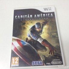 Videojuegos y Consolas: CAPITAN AMERICA SUPERSOLDADO. Lote 146689158