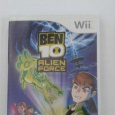 Videojuegos y Consolas: BEN 10: ALIEN FORCE. NINTENDO WII. Lote 146782398