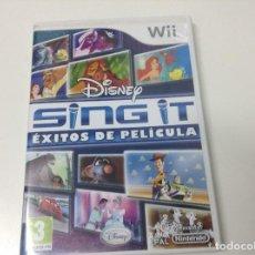 Videojuegos y Consolas: DISNEY SING IT EXITOS DE PELICULA. Lote 146884530