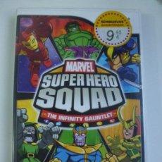 Videojuegos y Consolas: SUPER HERO SQUAD WII (CONTIENE EL MANUAL). Lote 147063430