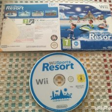 Videojuegos y Consolas: WII SPORTS RESORT EN CAJA DE CARTON NINTENDO PAL KREATEN. Lote 147078662