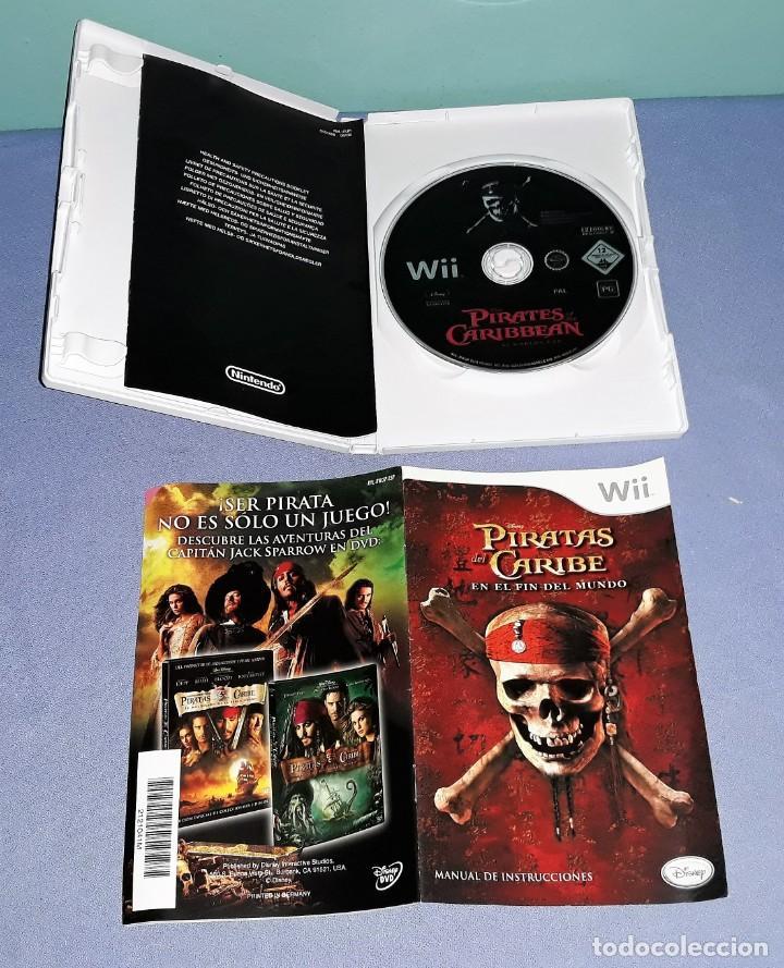 Videojuegos y Consolas: JUEGO COMPLETO Wii PIRATAS DEL CARIBE EN EL FIN DEL MUNDO ORIGINAL EN MUY BUEN ESTADO VER FOTOS - Foto 3 - 147703630