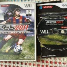 Videojuegos y Consolas: PES 2011 PRO EVOLUTION SOCCER 11 NINTENDO WII XMEN KREATEN. Lote 147779538