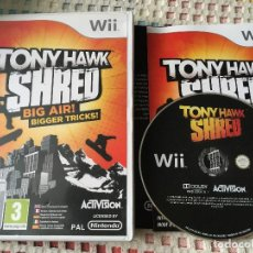Videojuegos y Consolas: TONY HAWK SHRED BIG AIR BIGGER TRICKS NINTENDO WII XMEN KREATEN. Lote 147779898