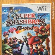 Videojuegos y Consolas: JUEGO SMASH BROS BRAWL NINTENDO WII. Lote 150262790