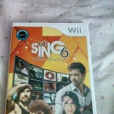 Videojuegos y Consolas: LETS SING 6 WII. Lote 148526849