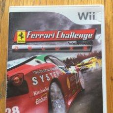 Videojuegos y Consolas: JUEGO FERRARI CHALLENGE DE LUXE WII. Lote 148531766