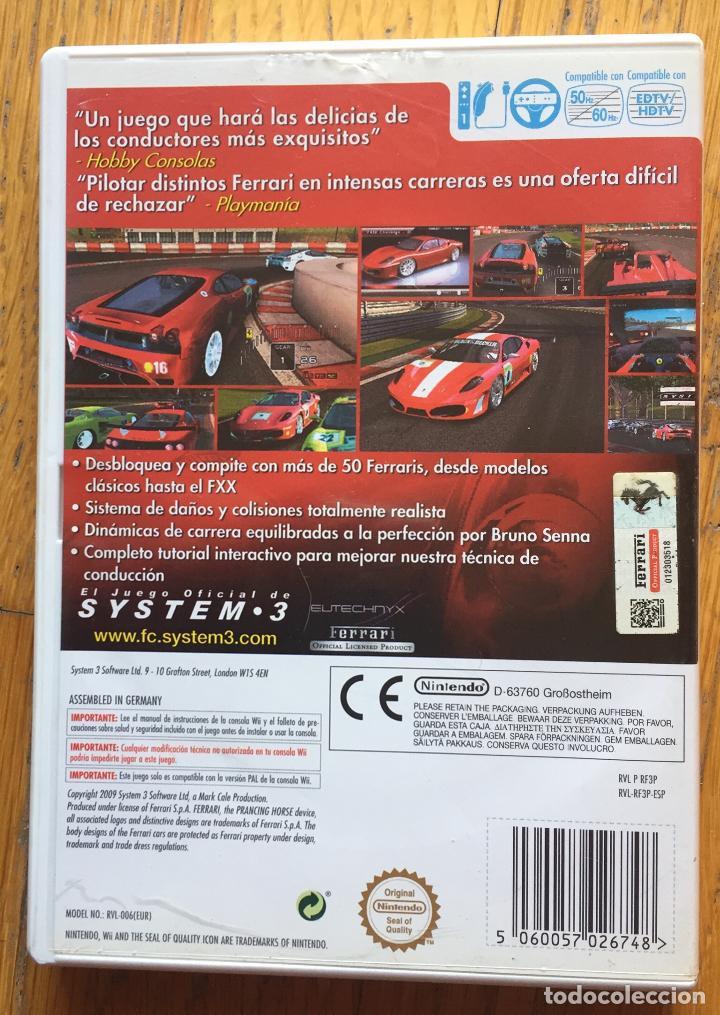 Videojuegos y Consolas: JUEGO FERRARI CHALLENGE DE LUXE WII - Foto 3 - 148531766