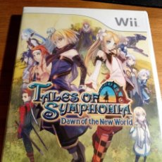 Videojuegos y Consolas: WII WII U TALES OF SYMPHONIA DAWN OF THE NEW WORLD COMO NUEVO. Lote 148580418