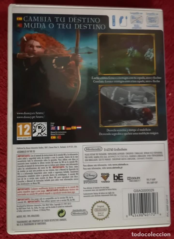 Videojuegos y Consolas: Juego wii DISNEY PIXAR BRAVE - Foto 2 - 151022238