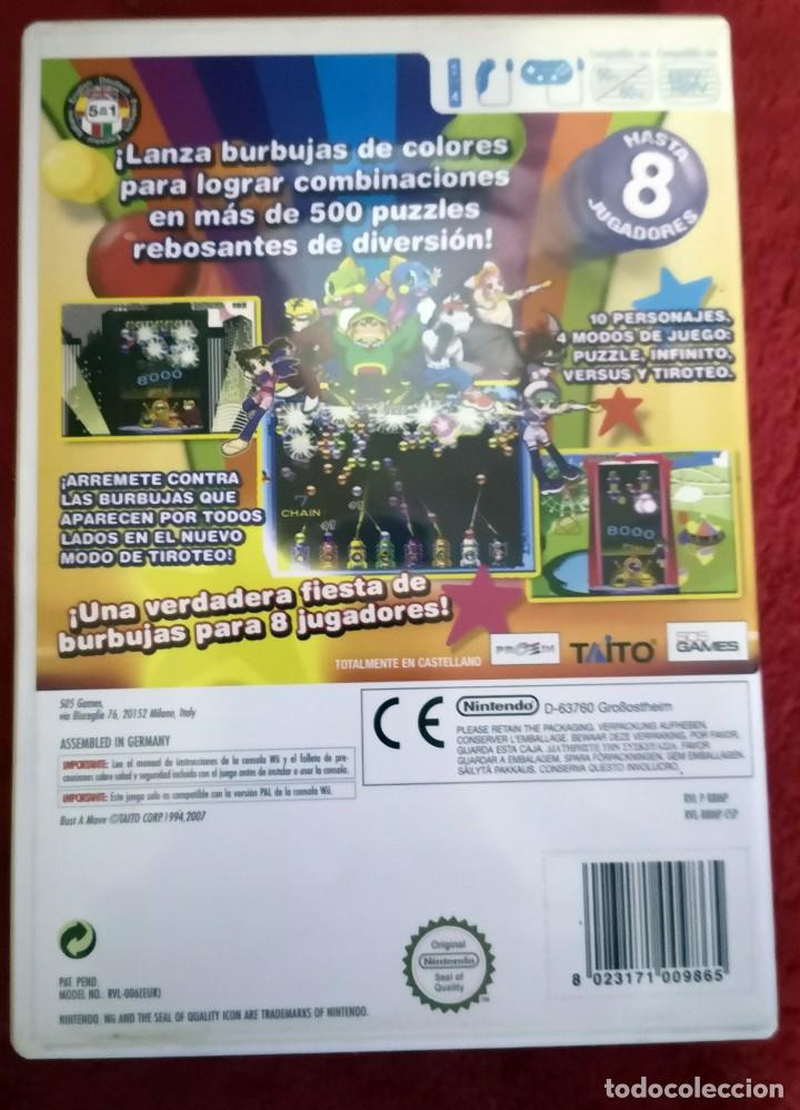 Videojuegos y Consolas: JUEGO BUST A MOVE PARA NINTENDO WII. HORAS Y HORAS DE DIVERSION ! - Foto 2 - 151023286