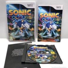 Videojuegos y Consolas: SONIC COLOURS NINTENDO WII. Lote 151541874