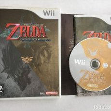 Videojuegos y Consolas: THE LEGEND OF ZELDA TWILIGHT PRINCESS NINTENDO WII KREATEN COMPATIBLE WIIU WII-U. Lote 151545042