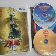 Videojuegos y Consolas: THE LEGEND OF ZELDA TWILIGHT PRINCESS NINTENDO WII KREATEN COMPATIBLE WIIU WII-U. Lote 151545342