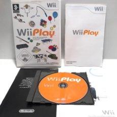 Videojuegos y Consolas: WII PLAY NINTENDO WII. Lote 152500494