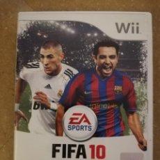 Videojuegos y Consolas: FIFA 10 (WII). Lote 152765458