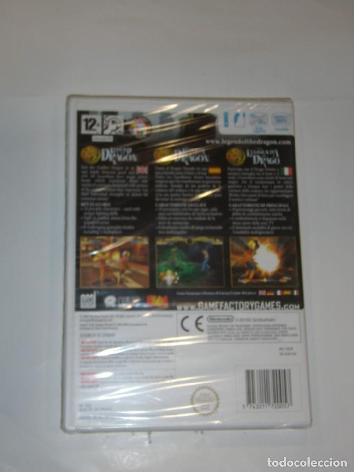 Videojuegos y Consolas: Juego Wii, Legend of the Dragon, Nuevo sin abrir, precintado. - Foto 4 - 153935134