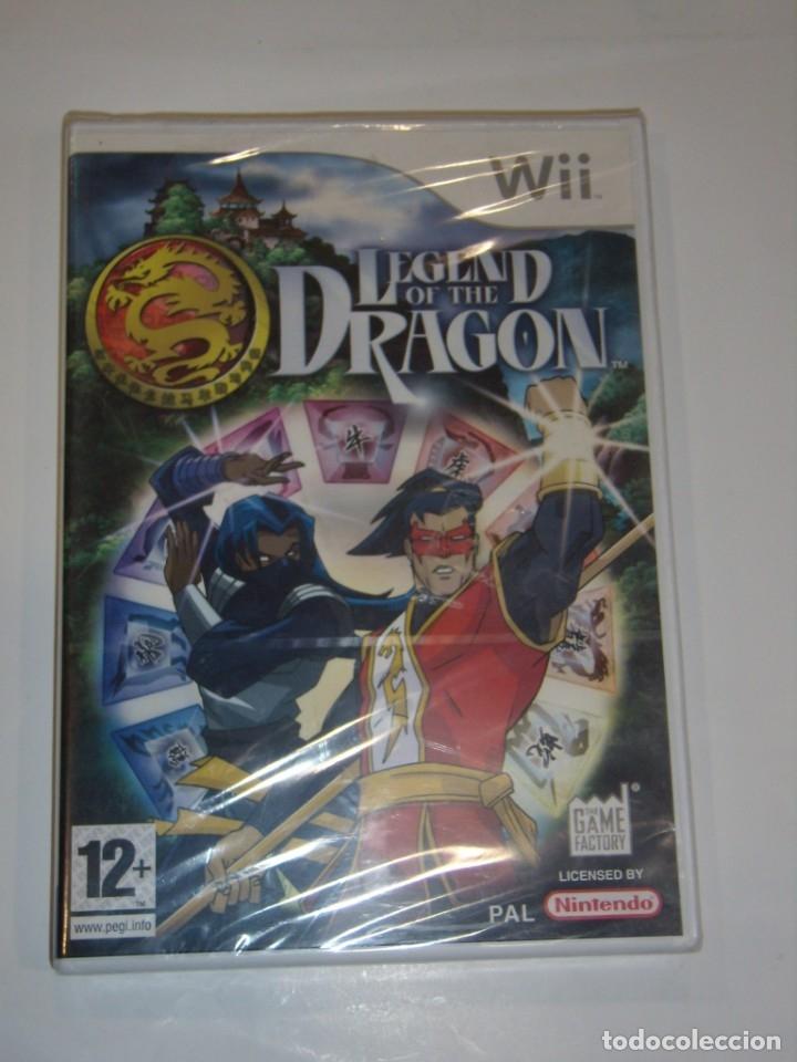 JUEGO WII, LEGEND OF THE DRAGON, NUEVO SIN ABRIR, PRECINTADO. (Juguetes - Videojuegos y Consolas - Nintendo - Wii)