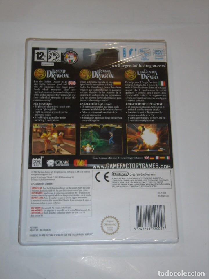Videojuegos y Consolas: Juego Wii, Legend of the Dragon, Nuevo sin abrir, precintado. - Foto 3 - 153935134