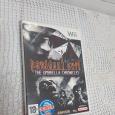 Videojuegos y Consolas: RESIDENT EVIL THE UMBRELLA CHRONICLES PARA WII. Lote 155114334