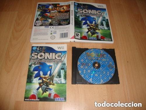 JUEGO NINTENDO WII SONIC EL CABALLERO NEGRO (Juguetes - Videojuegos y Consolas - Nintendo - Wii)