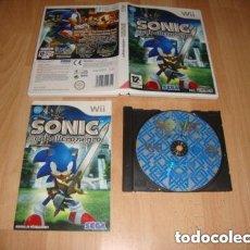 Videojuegos y Consolas: JUEGO NINTENDO WII SONIC EL CABALLERO NEGRO. Lote 155188486